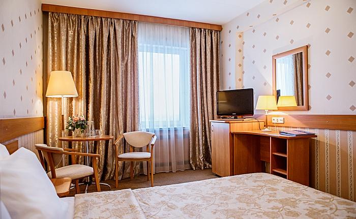 Стандарт двухместный в гостинице Бета